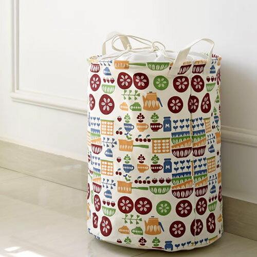 收納筒 超大收納洗衣籃 玩具雜貨收納  35*45【ZA0675】 BOBI  09/14 0