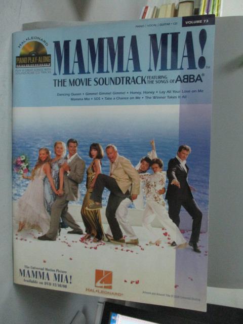 ~書寶 書T6/音樂_YCA~Pno Play~Along 73~ MAMMA MIA!_