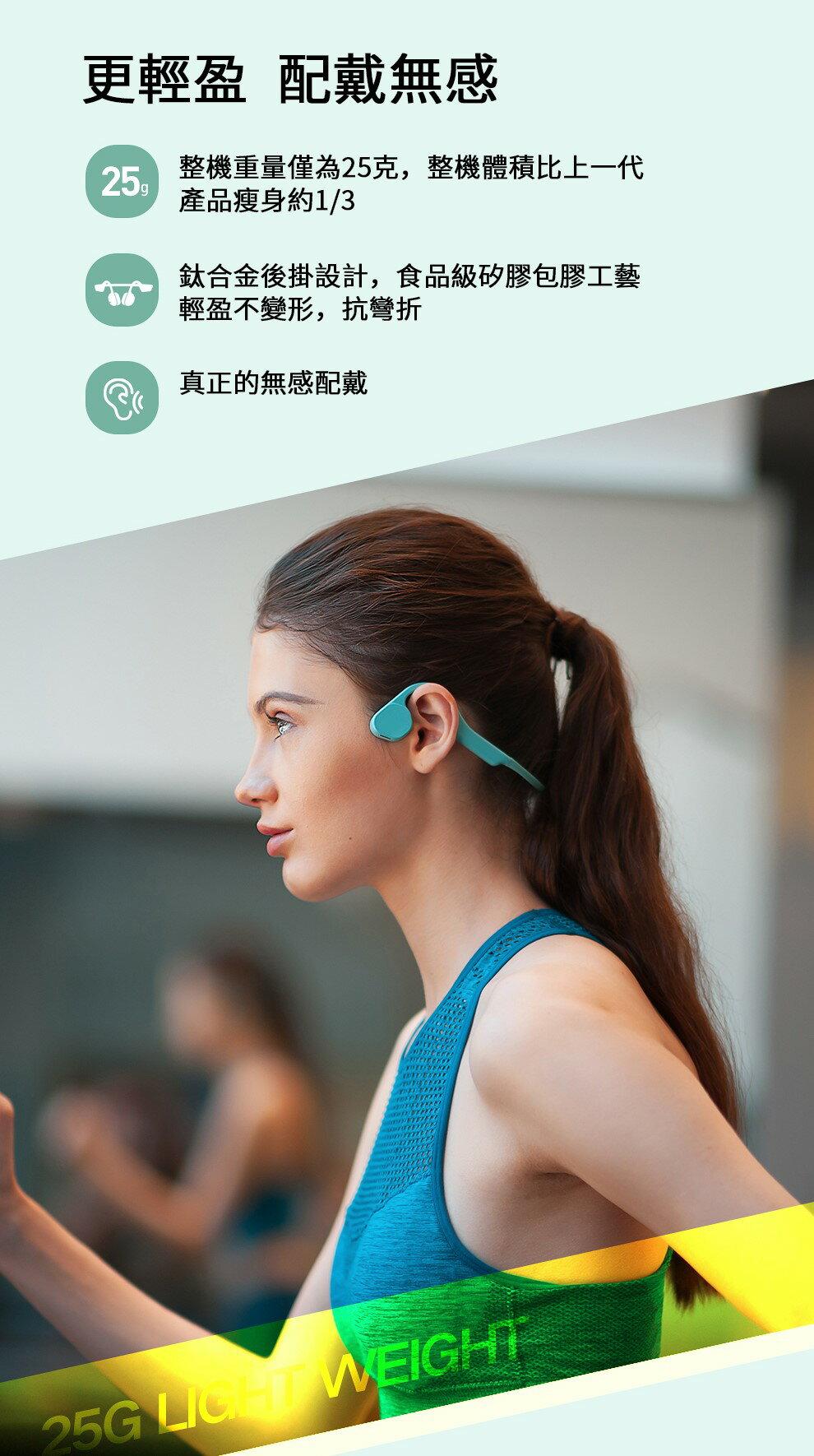 【告別耳痛!個性耳機】WiWU-骨傳導馬拉松系列MA1