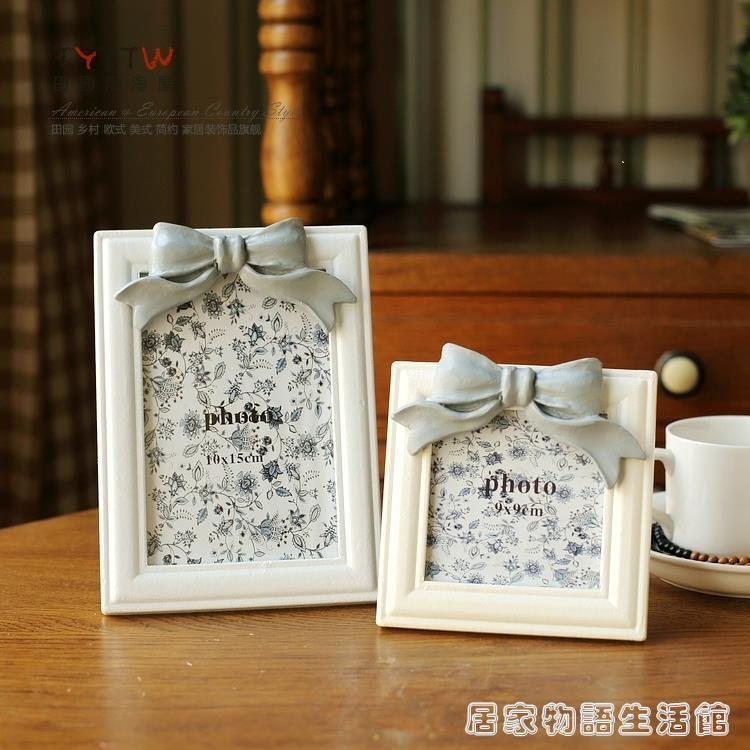 田園淘淘屋家居飾品 韓式木質創意婚紗照相框相片架擺台相框 樂樂百貨