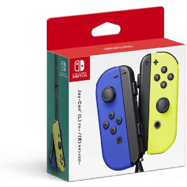 任天堂 Nintendo Switch Joy-Con 左右手把 -藍/電光黃 [臺灣公司貨]