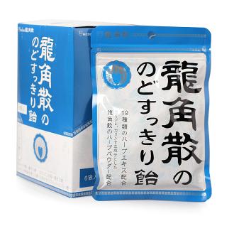 【日本代購】龍角散袋裝喉糖-原味 100g