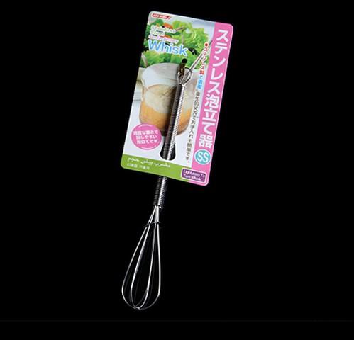《任意門親子寶庫》打蛋 攪拌 泡咖啡 泡牛奶【S8105】不鏽鋼打蛋器SS號