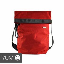 【美國Y.U.M.C. Haight城市系列Crossbody Messenger 13吋側背筆電包 嫣紅】電腦包 可容納13.3吋筆電/平板 【風雅小舖】