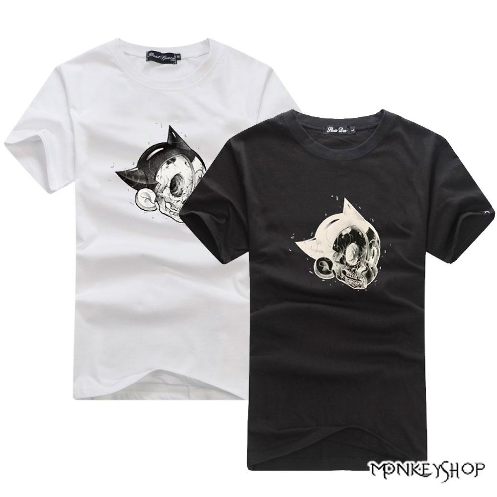 【C0016】MIT台灣製美式潮流PIE印花短袖T恤 -3色《Monkey Shop》