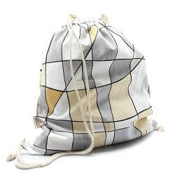 【It Bags】無印系列娜安沙錦束口後背包(集合圖形)