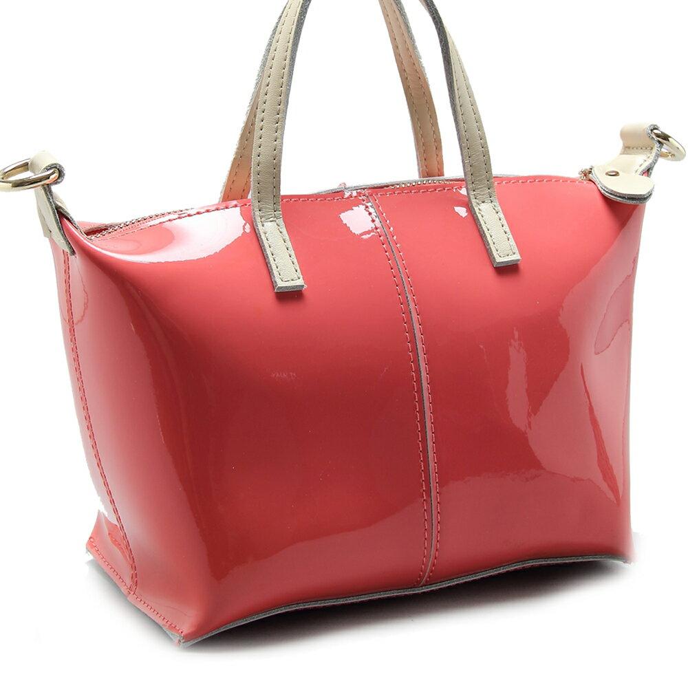 【101 Queen】真皮馬卡龍防潑水鏈帶兩用包(共4色)