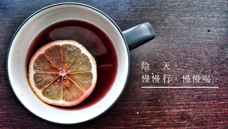 有機檸檬乾(50g)+野放薑紅茶包(12入){暖胃暖心的午茶組}