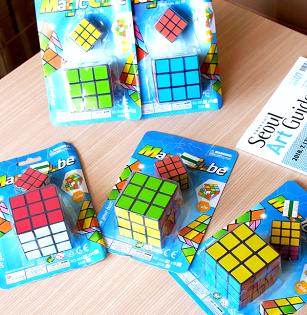 【aifelife】魔術方塊(大+小)智力啟發玩具腦力激盪益智玩具隨手攜帶玩具桌遊兒童啟發玩具智力開發贈品禮品
