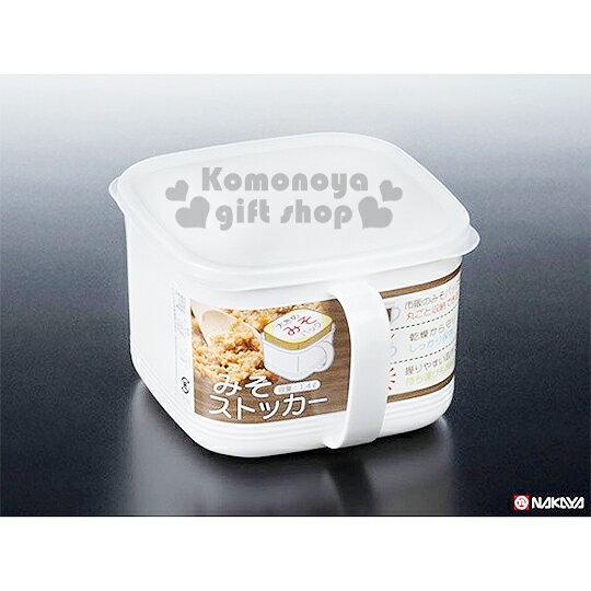 〔小禮堂〕日製調味盒《白.方形.1400ml》