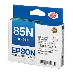 【EPSON 墨水匣】EPSON T122600 (NO.85N) 淡紅色墨水匣