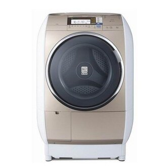 升汶家电批发:HITACHI 日立 13公斤 洗衣机 蒸气风熨斗滚筒洗脱烘 SFBD3900T