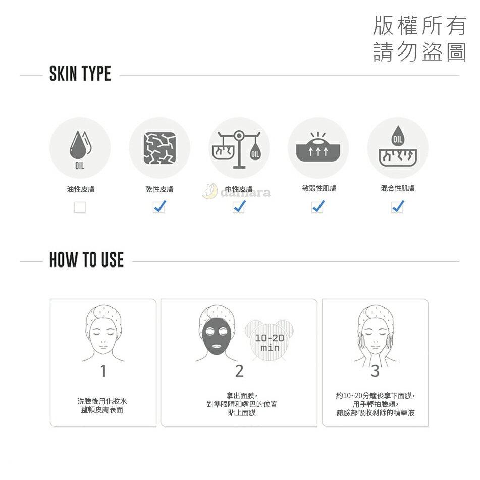 韓國 FOREVER SKIN 鮭魚水光保濕面膜25g (單片) 5