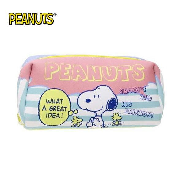 糊塗塔克款【日本正版】史努比防震筆袋鉛筆盒化妝包收納包SnoopyPEANUTS-295088