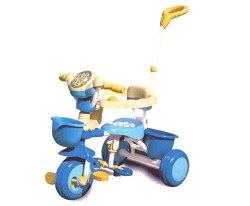 【淘氣寶寶】2015年最新款 久達尼-三輪車( 藍 / 粉 )T-100【台灣生產製造●品質有保證】