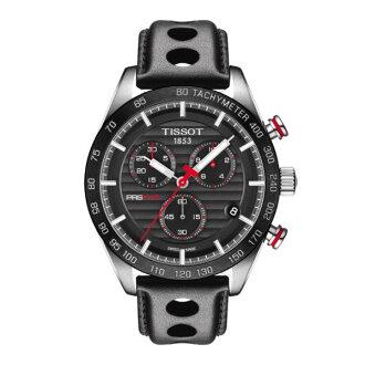TISSOT天梭T1004171605100 PRS516 計時時尚腕錶/黑面42mm