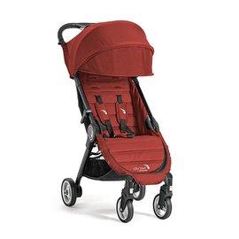 【淘氣寶寶】baby jogger city tour 單人手推車《C形旋風收折 輕量旅行車》(紅) 隨車附贈同色收納背袋
