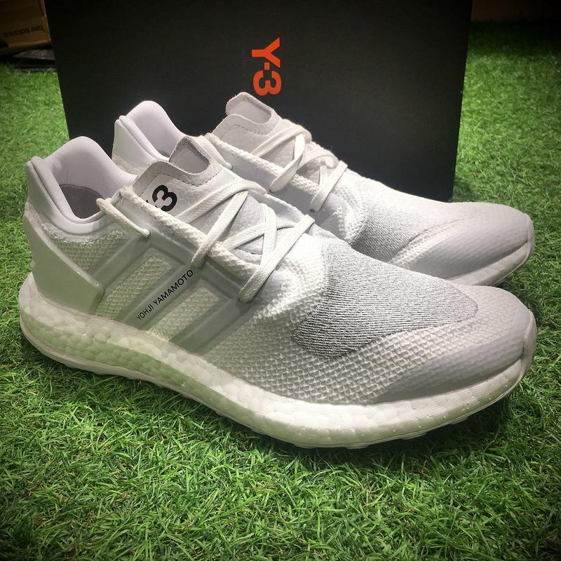 "adidas Y-3 Pure knit boost ""Triple White""白色 男款"