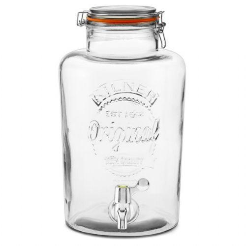 《 Kilner│↘8折 》8L 玻璃飲水器/玻璃飲料桶
