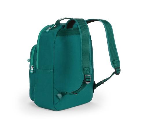 OUTLET代購【KIPLING】時尚經典Seoul旅行袋 斜揹包 肩揹包 後揹包 森林綠 1