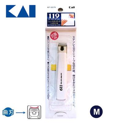 日本貝印 119精緻指甲剪KIKF0579 (M) / 支