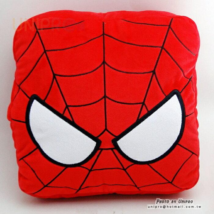 【UNIPRO】Marvel 蜘蛛人 Spider Man 暖手枕 靠背枕 抱枕 漫威正版授權