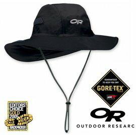【【蘋果戶外】】Outdoor Research OR243505 001 GTX 大盤帽 黑 black Gore-tex 圓盤帽子 牛仔帽.100%防水透氣.排汗 保暖防風 OR82130