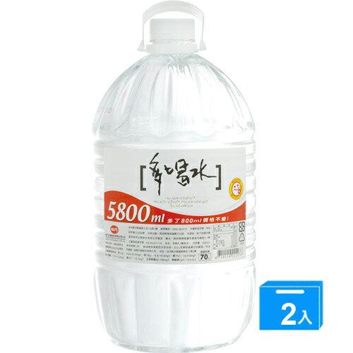 味丹多喝水5800ml*2【愛買】
