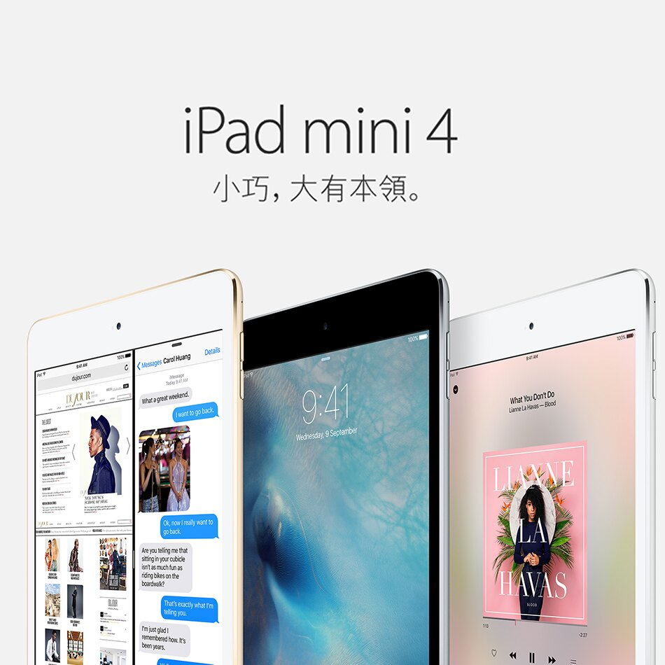 Apple 蘋果 iPad mini 4 WI-FI 64G