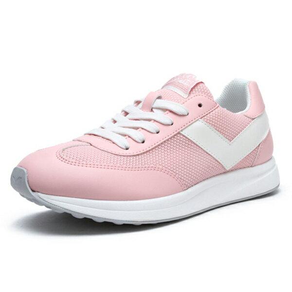 Shoestw【91W1MO02PK】PONY Montreal 復古休閒鞋 粉紅白 女生 蔡依林 周筆暢 雙后代言 1