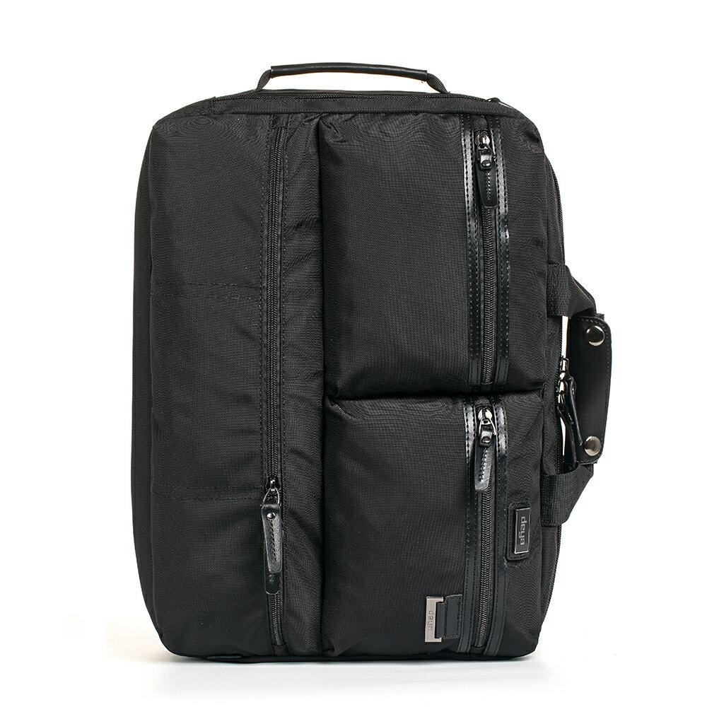 後背包 / deya【曼哈頓系列】風尚三用後背公事包 可放15.6吋筆電 超大空間 - 限時優惠好康折扣