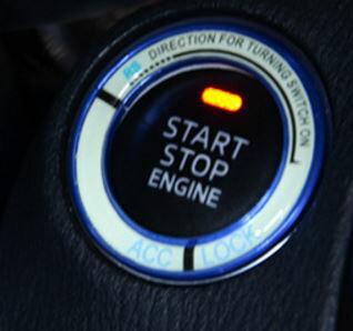 HONDA 鑰匙孔夜光貼 點火圈 鑰匙孔裝飾貼 CITY FIT CRV HRC CIVI