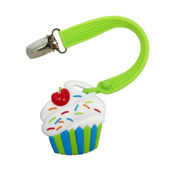 【淘氣寶寶】美國 Silli Chews 迷你蛋糕夾帶咬牙器 SC-52