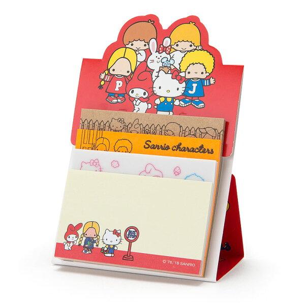 【真愛日本】18051800017日本製自黏便箋-MX70S加ACO美樂蒂雙子星便利貼便條紙文具