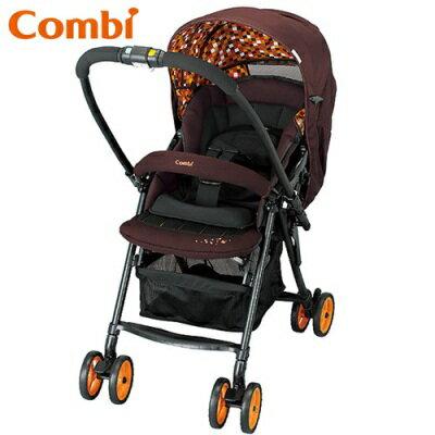 ※Combi Well Comfort EG 雙向輕量手推車(橘)