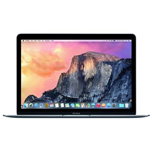 "Apple MacBook MJY32LL/A 12"" LCD Notebook - Intel Core M Dual-core (2 Core) 1.10 GHz - 8 GB LPDDR3 - 256 GB Flash Memory - Mac OS X 10.10 Yosemite - 2304 x 1440 - Retina Display, In-plane Switching (IPS) Technology - Space Gray - Intel HD Graphics 5300 LPD 0"