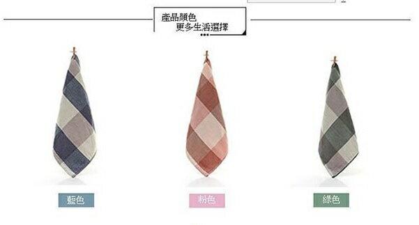 PS Mall 新漸變魔方色織無撚割絨純棉 方巾34*34cm【J1374】 0