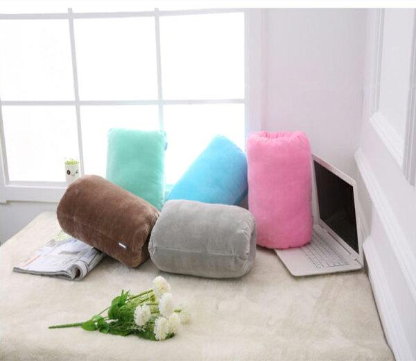 暖手枕腰枕午睡枕暖手袋暖手包【綠居布屋】