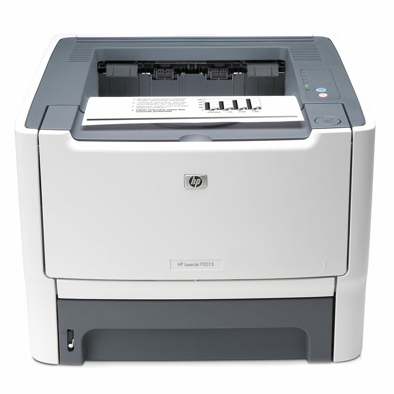 HP LaserJet P2000 P2015D Laser Printer - Monochrome - 1200 x 1200 dpi Print - Plain Paper Print - Desktop - 27 ppm Mono Print - Legal, Executive, Envelope No. 10, Monarch Envelope, Custom Size - 300 sheets Standard Input Capacity - 15000 Duty Cycle - Auto 0
