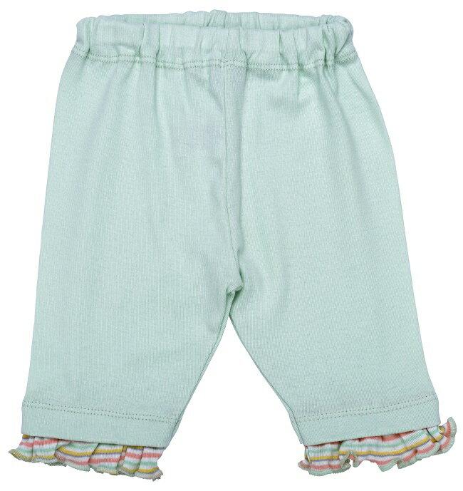 【好優Hoyo】美國Under The Nile有機棉休閒長褲(粉綠)~6-9個月