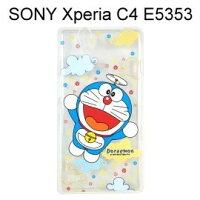小叮噹週邊商品推薦哆啦A夢透明軟殼 [雲朵] SONY Xperia C4 E5353 小叮噹【正版授權】