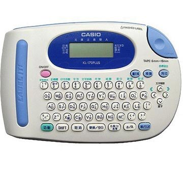 CASIO卡西歐 KL-170 Plus 標籤印字機【專用變壓器】原廠公司貨(不含標籤機)
