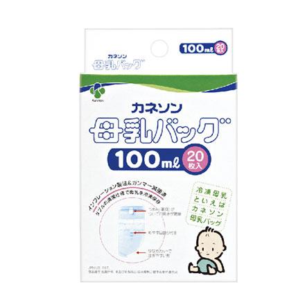 【悅兒樂婦幼用品舘】Kaneson 母乳冷凍袋-100ml 20枚入