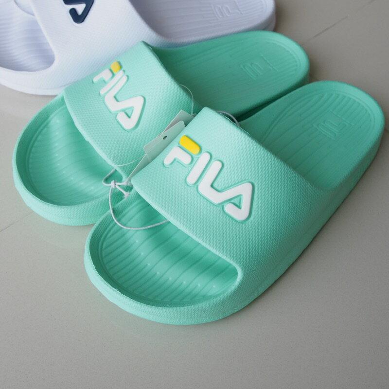 FILA 輕量 防水 拖鞋 一體成型 4-S355Q-001