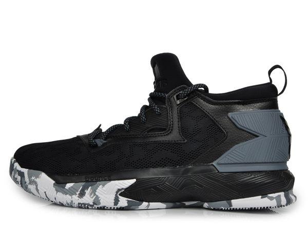 ADIDAS D LILLARD 2 男鞋 籃球鞋 黑 灰 迷彩 輕量 透氣 明星款 【運動世界】 B42388
