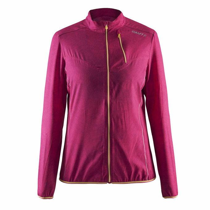 【速捷戶外】瑞典Craft 1903939 女輕量防風 風衣外套(桃紅), 跑步 單車 野跑 馬拉松 夜跑