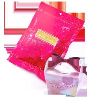 分享幸福的婚禮小物推薦喜糖_餅乾_伴手禮_糕點推薦婚禮小物-甜心喜糖袋+幸福Chuchu喜糖盒(粉紅)組合