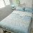 天絲床組  青色波斯王子  多種尺寸組合賣場 100%木漿纖維 2
