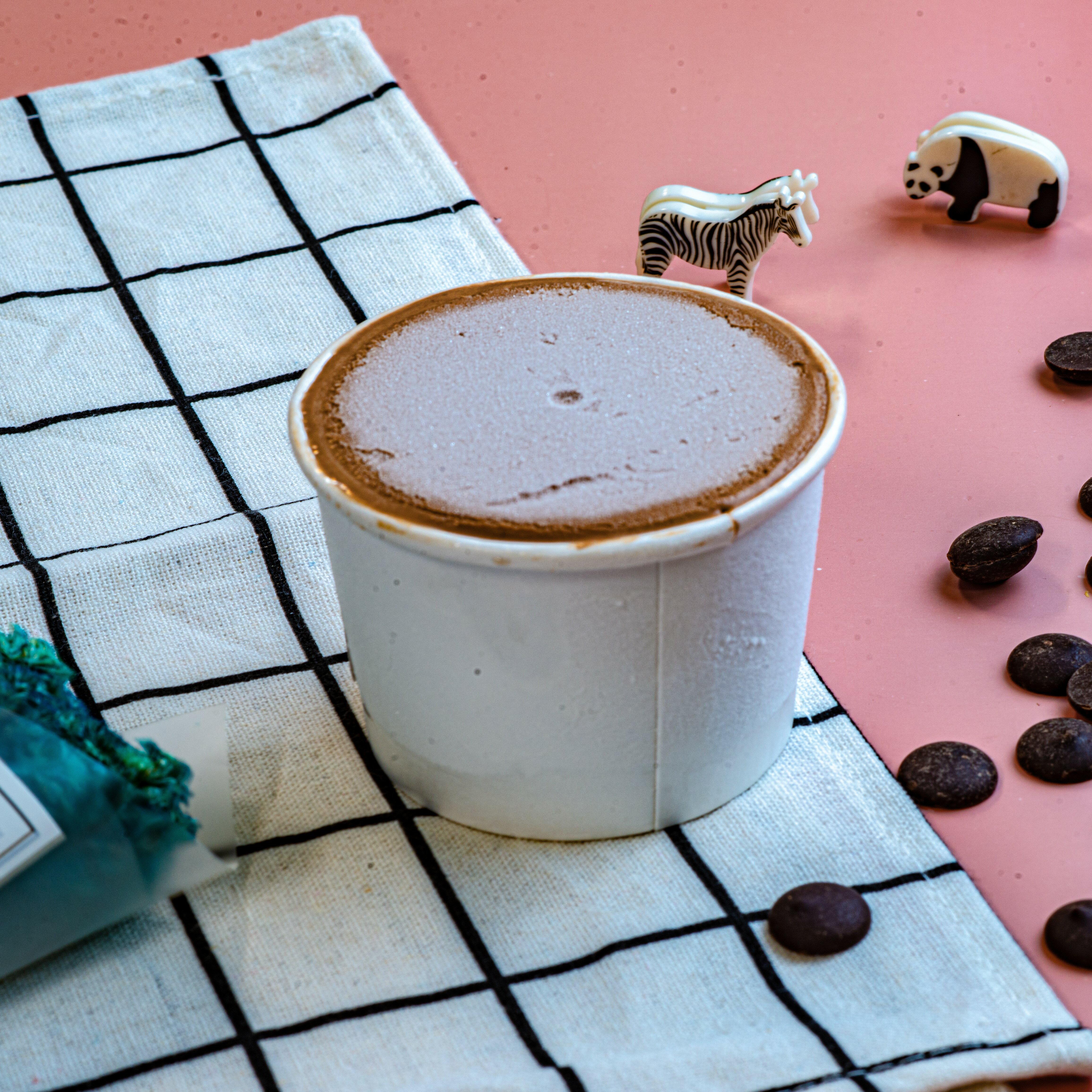 80%苦甜巧克力冰淇淋