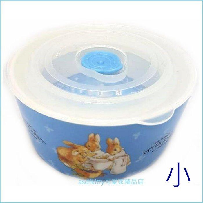 asdfkitty可愛家☆彼得兔陶瓷保鮮碗-保鮮盒/便當盒-小-韓國正版商品